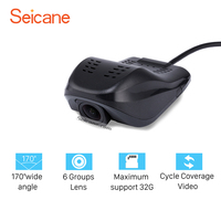 Seicane Portable Car USB DVR Camera Video Recorder HD 1920x1080P Night Vision For Seicane Car GPS Stereo Head unit Radio Player