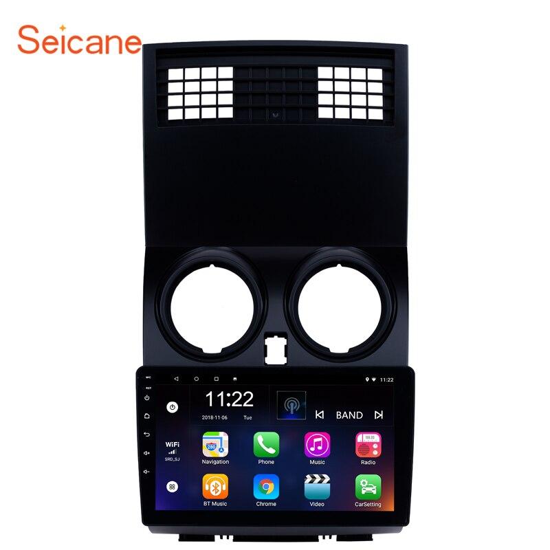 Seicane Multimídia Rádio Do Carro Leitor de Vídeo de Navegação do GPS do Android Para 2005-2018 NISSAN Qashqai apoio Carplay WI-FI DVR OBD2 DVR