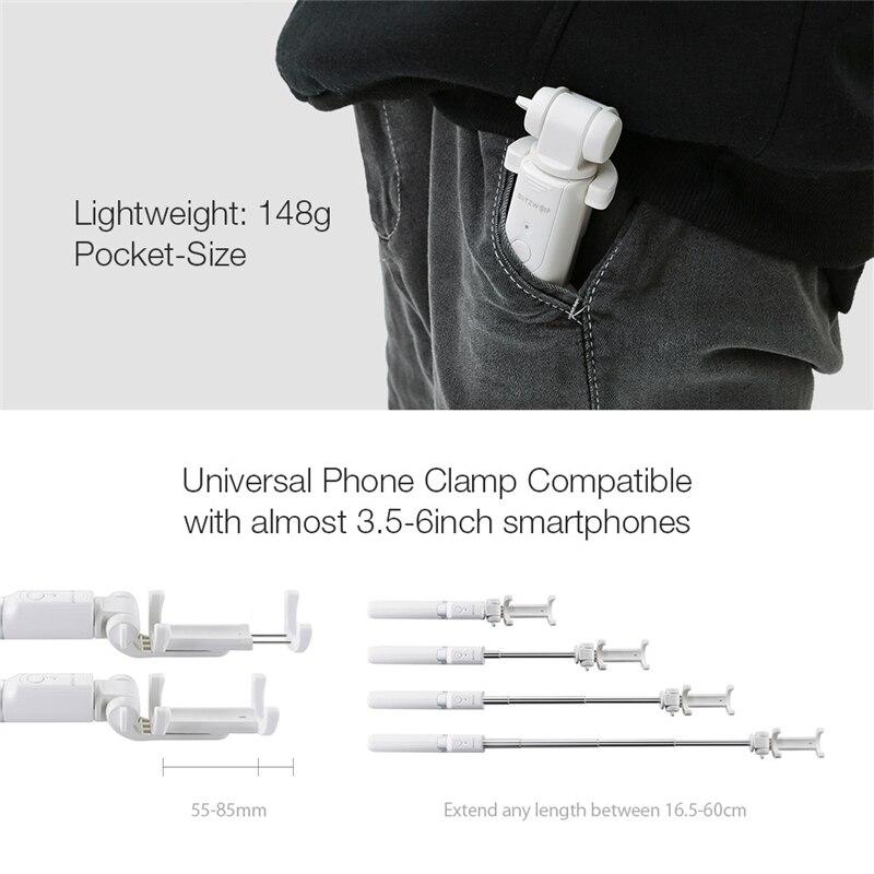 Versatile 3-in-1 360 Bluetooth Remote Tripod Selfie Stick F 3.5-6 Phone Selfie Stick Tripod Stand for iPhone X 8 Plus S9 S8
