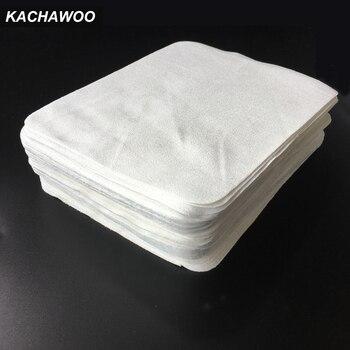Kachawoo 100 шт. белый цвет морской остров ткань из микрофибры очки ткань для чистки замши линзы чистящие салфетки аксессуары