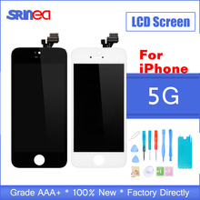 For iPhone 5 5g LCD Display Touch Digitizer for iPhone 5 LCD Screen iPhone 5 Mobile Phone Parts Display Assembly Replacement brand new 5 5 display parts for apple iphone 6s plus lcd screen replacement with tool kits lcd touch screen digitizer assembly