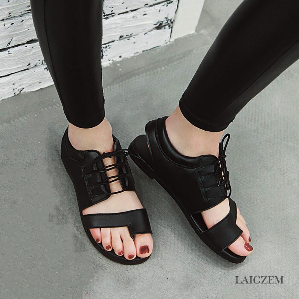 Wide Flip Flops Womens