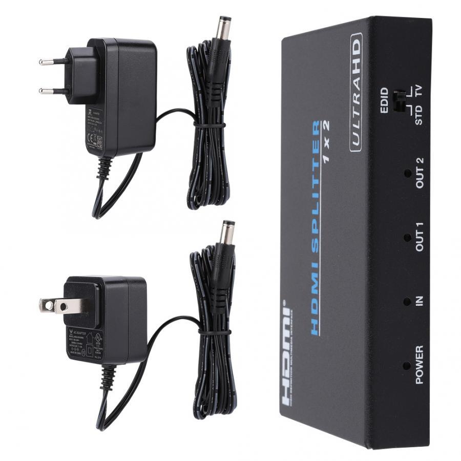 Câble Audio séparateur HDMI commutateur intelligent dispositif 4 K 1080 P 1x2 amplificateur de commutation