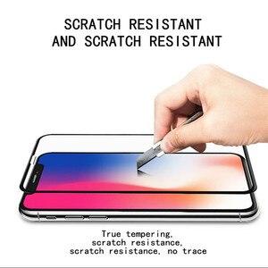Image 4 - 5D スクリーンプロテクターガラス iphone 6 6x7 8 フルカバー強化ガラス 7 8 プラス XR XS 最大保護フィルム