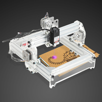 20 X 17cm 15W Laser Engraving Machine Metal Carving Machine DIY Kit Carving Instrument Engraver Desktop Router/Cutter/Printer