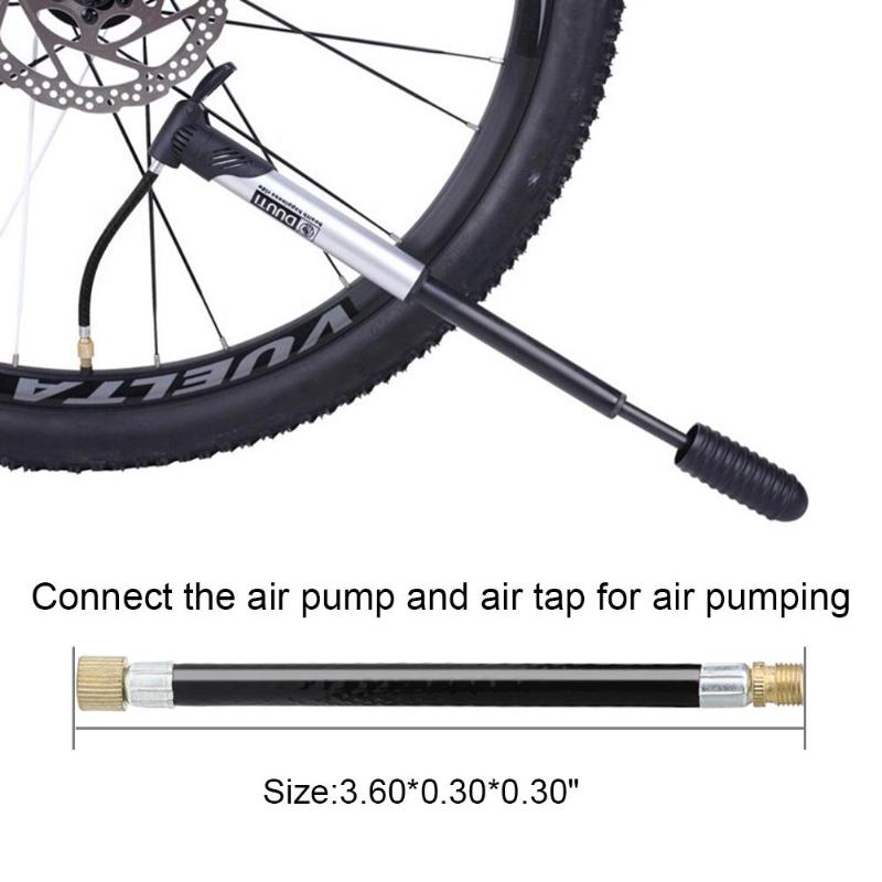 Bicycle Air Pump Head Inflator Connector ValveMTB Bike Parts Cycling Copper