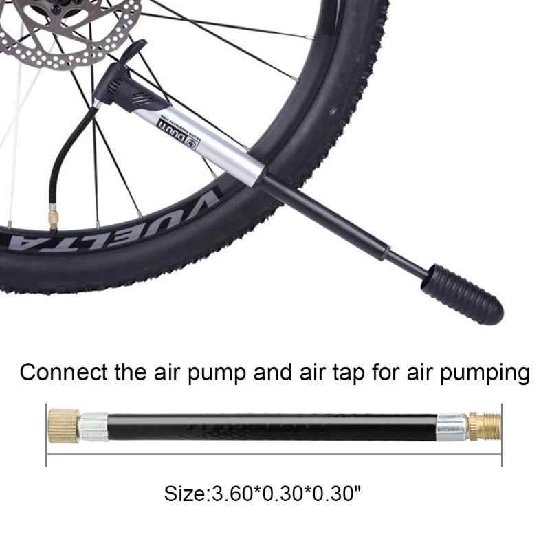 MTB Fiets Band Gas Valve Adapter Inflater Luchtpomp Extension Buis 1PC Bike Pomp Extension Slang Buis Pijp koord Fiets Pu