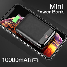 FLOVEME Portable Mini 10000mAh Power Bank For iPhone Samsung S9 Phone Charger Dual Posts External Battery Pack Powerbank