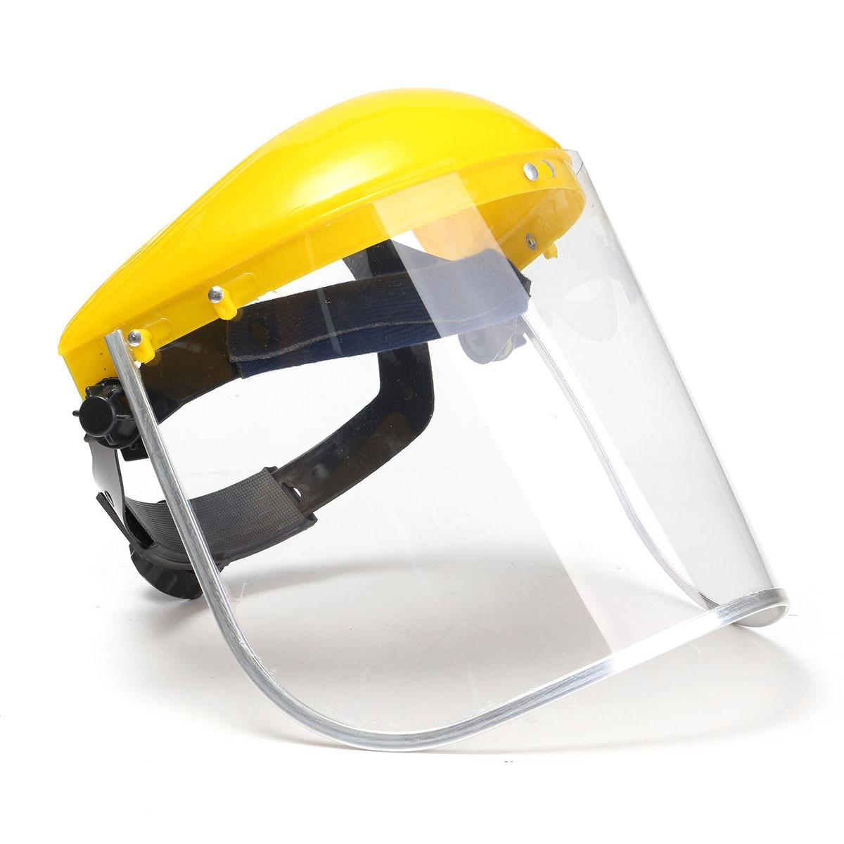 3Pcs White Protective Face Shield /&Visor Full Safety Workwear Eye Protection