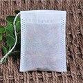 Чайные пакетики  100 шт./лот  пустая ароматическая сумка на шнурке  5*7 см  уплотнительный фильтр для приготовления трав  специй  кофе  инструмен...