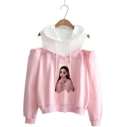 Ariana Grande Sweatshirt No Tears Left To Cry Hoodie Women Cartoon Print God Is A Woman Harajuku Sweatshirts Warm Tops Pullover 3