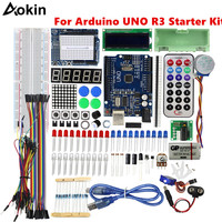 Starter Kit for UNO R3 mini Breadboard LED jumper wire button for arduino RFID Starter Kit for Arduino UNO R3 Upgraded version