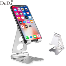 Foldable Lazy Metal Universal Mobile Phone Desk Stand Holder For iPhone 7 x Huawei iPhone 4s xiaomi tablet mi 9 samsung s10 plus ifive mini 4s 7 9 inch tablet
