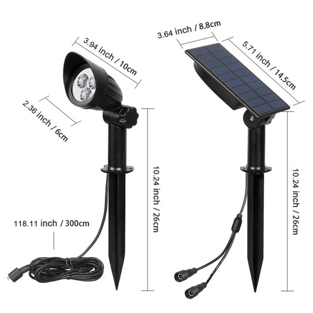 2 in 1 Solar Powered LED Street Lights Light-controlled Lawn Lights Outdoor Waterproof Yard Wall Landscape led solar Lamps2 in 1 Solar Powered LED Street Lights Light-controlled Lawn Lights Outdoor Waterproof Yard Wall Landscape led solar Lamps