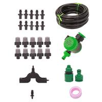 DIY Drip Irrigation System Smart Automatic Garden Watering Micro Dripper Kit 10/15M Watering Hose Adjustable Drippers
