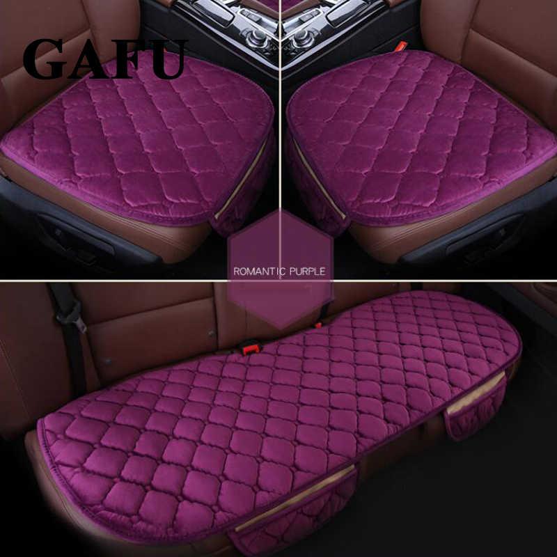 For Vw Passat B5 B6 B7 B8 Car Seat Cover Winter Goods Accessories Car Seat Cushion Cover Pad Mats Non Slip Auto Protectors