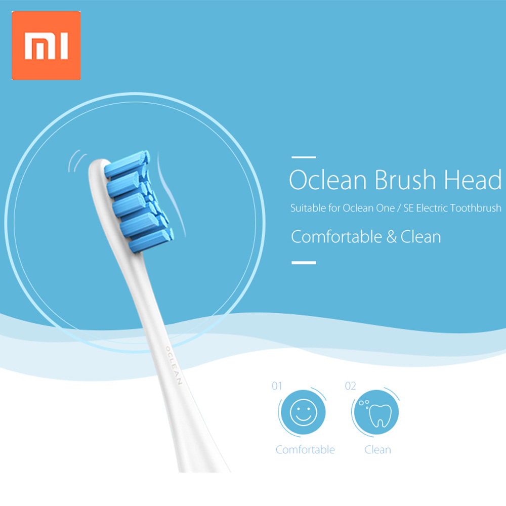 Oclean One Se Replacement Brush Head For Automatic Electric Sonic Toothbrush Sonic Tooth Brush Oral Deep Cleaning Pom Material