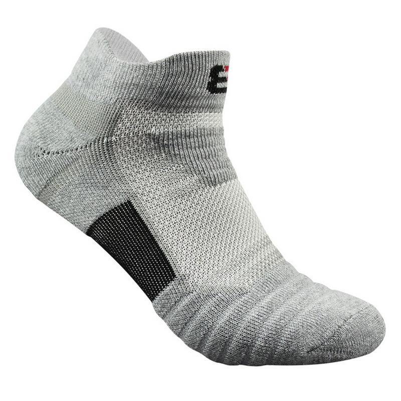 Men Elite Outdoor Sports Basketball Socks Men Football Cycling Socks Compression Socks Cotton Towel Bottom Non-slip Men's Socks
