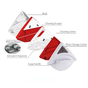 Image 5 - Spazzola magnetica Per Il Lavaggio Finestre Guidata Window Magnetic Cleaner Side Double Glass Wiper Utile Singolo Vetri di Lavaggio/Pulizia