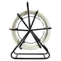 4,5 мм * 100 м стекловолоконной проволоки лента кабель рыбы ходовой шток канал Съемник электрическая катушка для пола Conduit и Телеком настенное