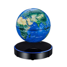 Aibecy Magnetic Levitating World Map with LED Light Base Anti-Gravity  Floating 0daaf18db729
