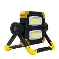 IP65 Outdoor LED Work Light Waterproof USB Rechargeable Searchlight Flood Folding Working Light Lamp