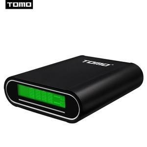 Image 3 - Зарядное устройство TOMO M4 4x18650 Li Ion USB, интеллектуальное зарядное устройство, портативный ЖК дисплей, чехол для мобильного телефона, аккумулятор, двойной выход, интеллектуальная зарядка
