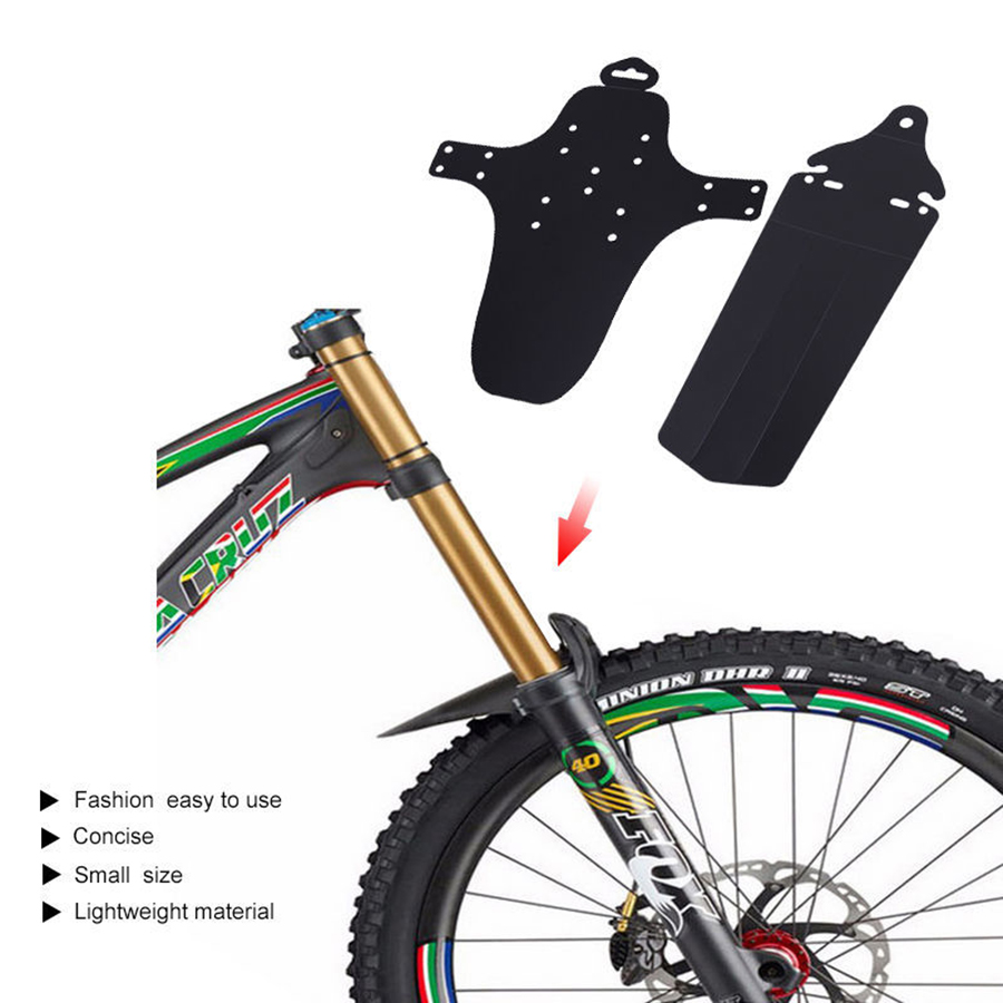 1Set Cycling MTB Mountain Bike Bicycle Front+Rear Mud Guards Mudguard Fender HQ