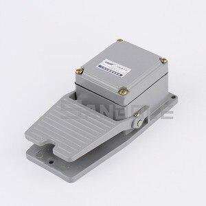 Image 2 - LT3 ayak anahtarı makinesi aracı aksesuarları Pedal anahtarı gümüş kontak su geçirmez alüminyum kabuk 15A/250V gri
