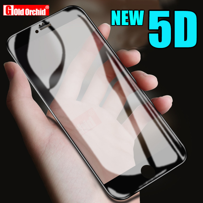 5D Full Cover Tempered Glass On The For iPhone 7 8 6 6s 5 5S Screen Protector Film For iPhone X 10 8 6 7 Plus Protective Glass5D Full Cover Tempered Glass On The For iPhone 7 8 6 6s 5 5S Screen Protector Film For iPhone X 10 8 6 7 Plus Protective Glass