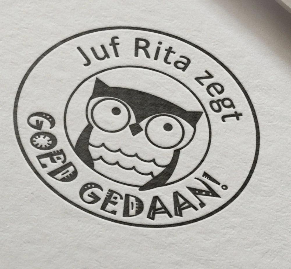 Well Done Custom Teacher Stamp