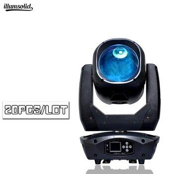 Lumière principale mobile de faisceau de zoom de 80 w pour la lumière d'effet d'étape de partie à la maison de Disco de DJ 20 pcs/lot