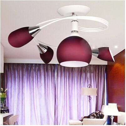 Led Lamp Modern Minimalist Living Room Cozy Bedroom Ceiling Ceiling Lamps Creative Restaurant