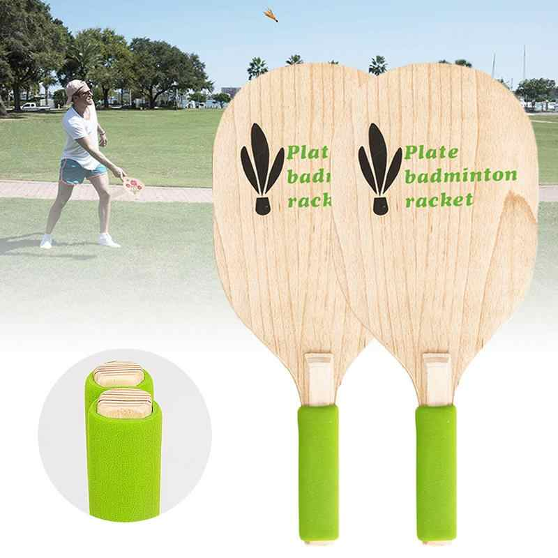 Beach Paddle Ball Badminton Tennis Game Beach Ping-pong Cricket Racket Cricket Outdoor Racket Game For Adults Children