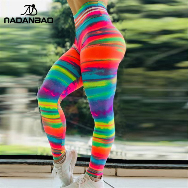 Sexy Push Up Sporting 3D Print Fitness Legging  2