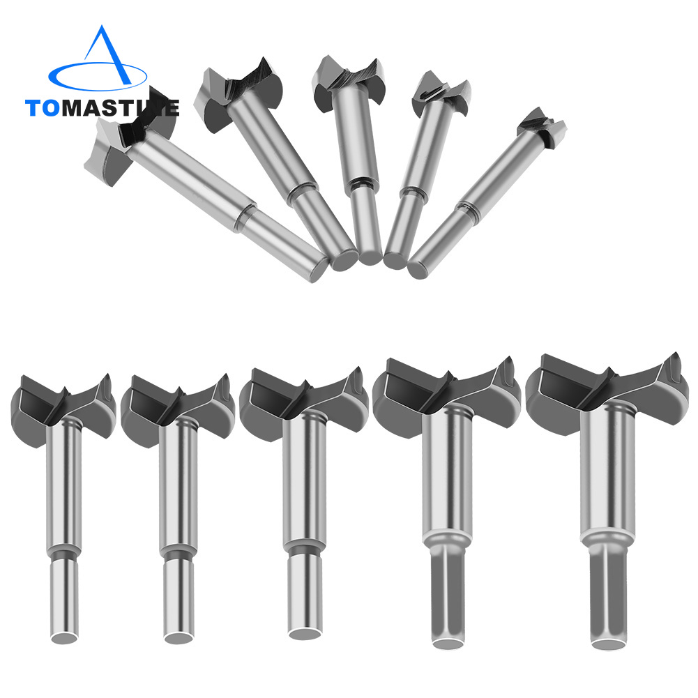 Forstner Wood Drill Bit Self Centering Hole Saw Cutter Woodworking Tools Set 15mm-48mm Carbon Steel Forstner Drill Bits