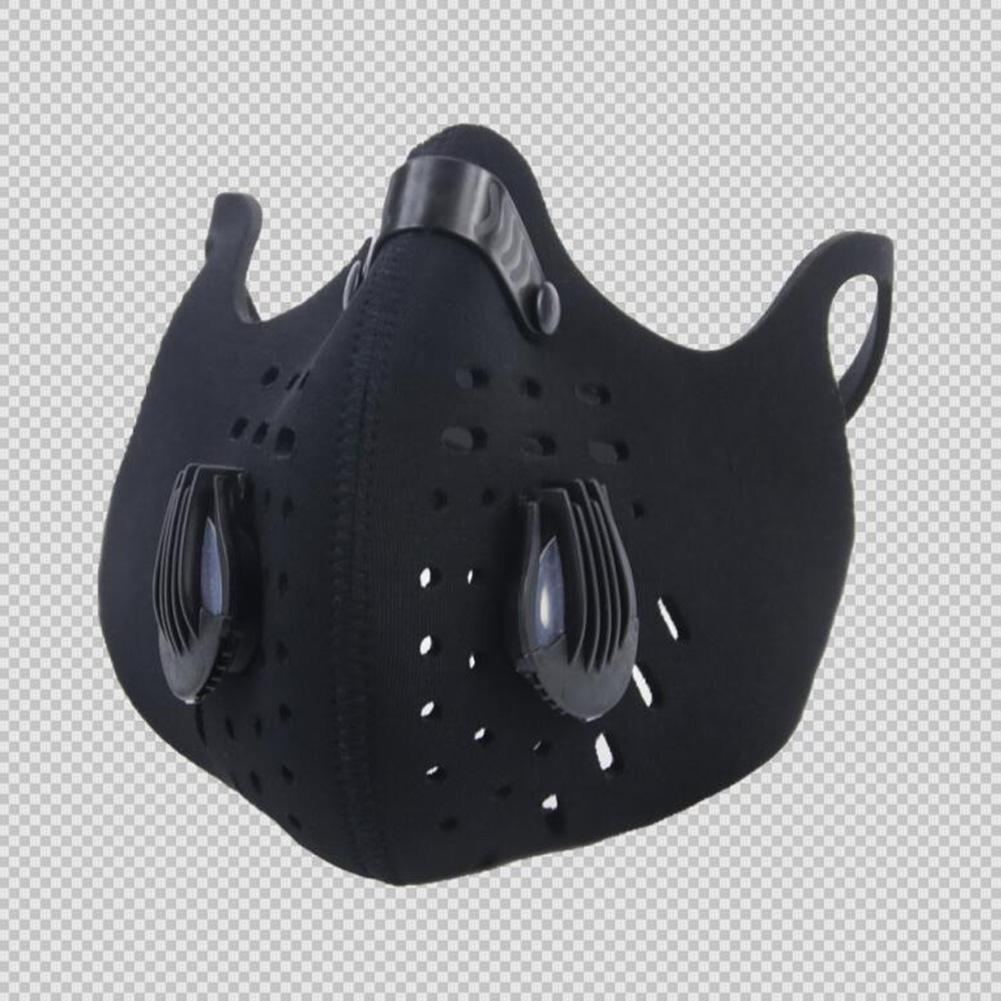 MISSKY Cycling Face Mask Sport Bike Mask Training PM 2.5 Dustproof Bicycle Mask +Activated Carbon Filter Breathable Face Shield