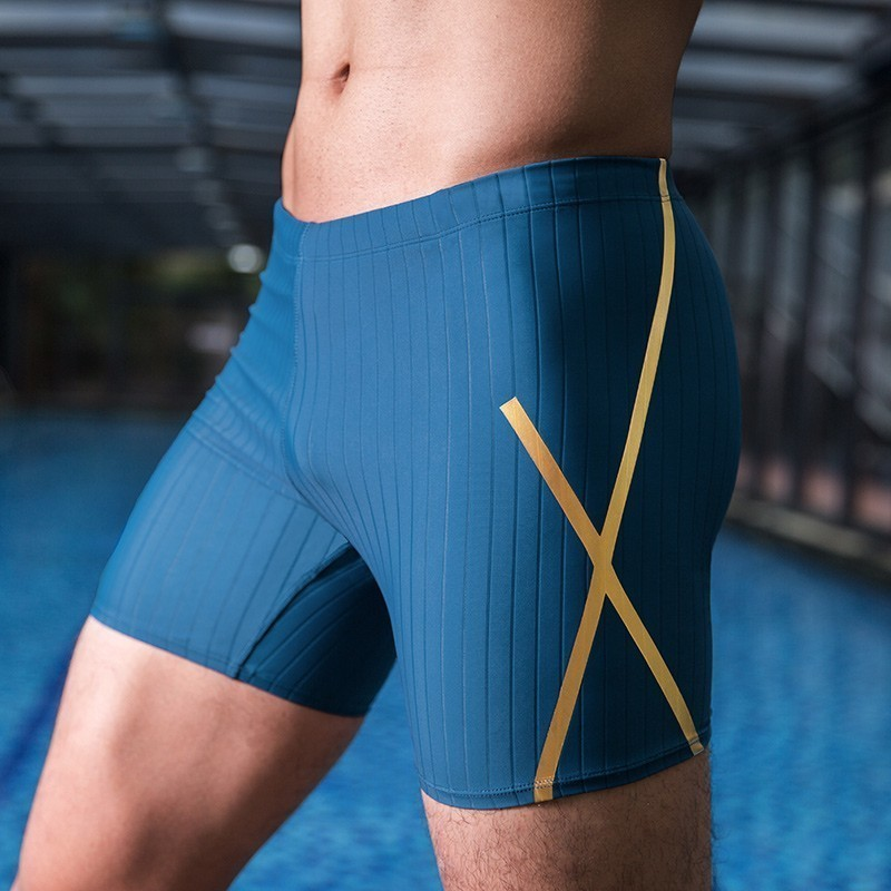 Vector Swimwear Men's Lycra Jammer Fiber New Higher Level Male Shark Skin Swiming Trunk Training Racing Swim Sun Protection