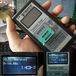 Image 1 - 휴대용 mega328 12864 lcd 그래픽 디스플레이 esr 미터 트랜지스터 테스터 커패시턴스 인덕턴스 다이오드 triode mos npn + 케이스