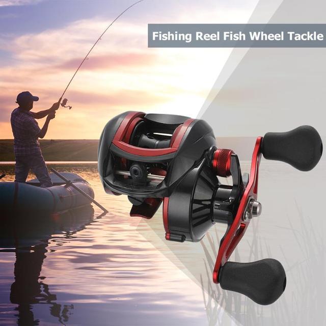 Best Price Metal Line Cup Carp Fishing Reel Baitcasting Reel High Speed 18+1BB Ball Bearings Water Drop Wheel