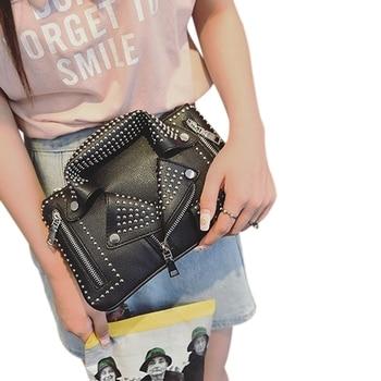 JHD-Bolso de mano para mujer, bolso de hombro con remaches a la moda de verano, bolso de mano con cadena, bolso cruzado