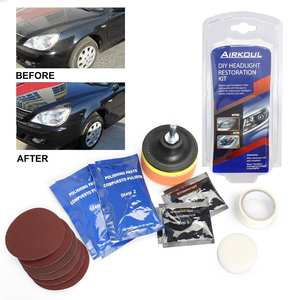 Lens-Cleaner Shine Combination-Suit Car-Repair Wipe Polisher Off-Headlight DIY Restoration