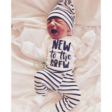 8fa2aa0205cde Buy new to the crew baby outfit and get free shipping on AliExpress.com