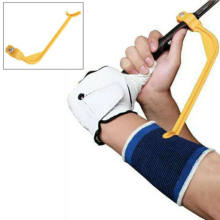 Uk golf swing guide training aid/trainer para o gesto de controle do corretor do braço de pulso(China)