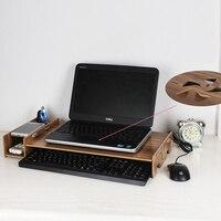 Laptop heightening Lapdesks Stand Desktop storage Office Supplies Drawer Organizer Simple Neck protection Display Keyboard Rack