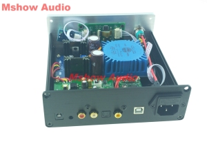 Image 3 - Finished ES9038Q2M ES9038 Q2M HIFI DAC Decoder Digital to analog Audio Amanero USB support DSD512 DSD 512