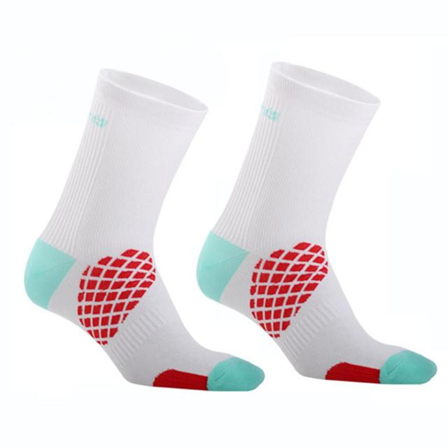 Fashion Unisex Outdoor Sport Socks Breathable Cycling Riding Running Fitness Socks