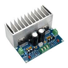 TDA7293 אודיו מגבר לוח 100Wx2 הדיגיטלי סטריאו מגבר כוח לוח עם גוף קירור כפולה AC12 32V