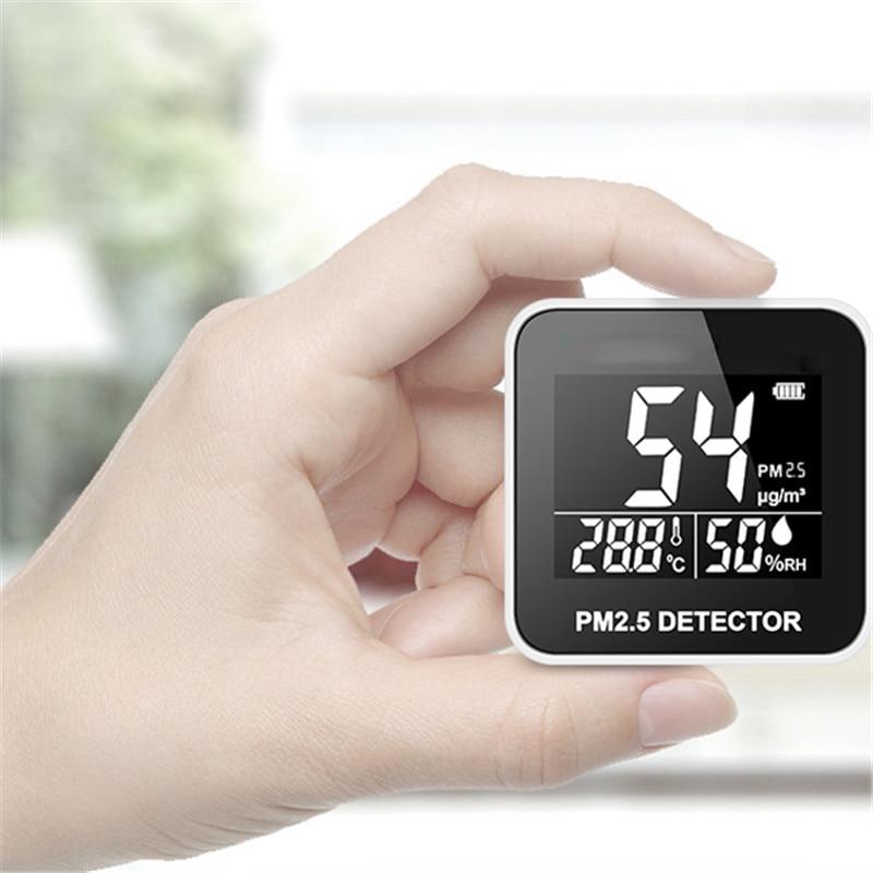 ミニ PM2.5 検出器デジタル空気質モニターレーザーガス温度湿度モニターアナライザ診断健康ケアツール  グループ上の ツール からの ガス分析計 の中 1