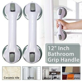 1 pc banheiro ventosa alça barra de apoio toalete banheira chuveiro do banheiro grab lidar com aperto ferroviário para idosos segurança